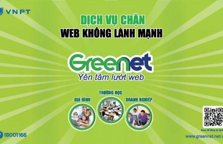VNPT ra mắt dịch vụ chặn website xấu độc GreenNet giúp môi trường trực tuyến trong sạch và an toàn hơn